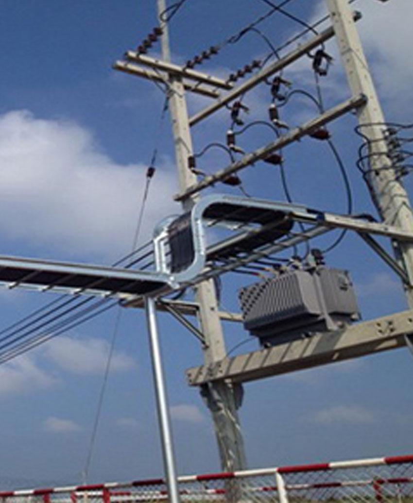 งานเดินสายเมนไฟฟ้า แรงต่ำ-แรงสูง